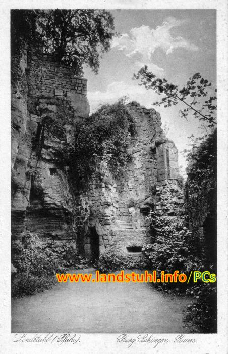 Burg Sickingen Ruine
